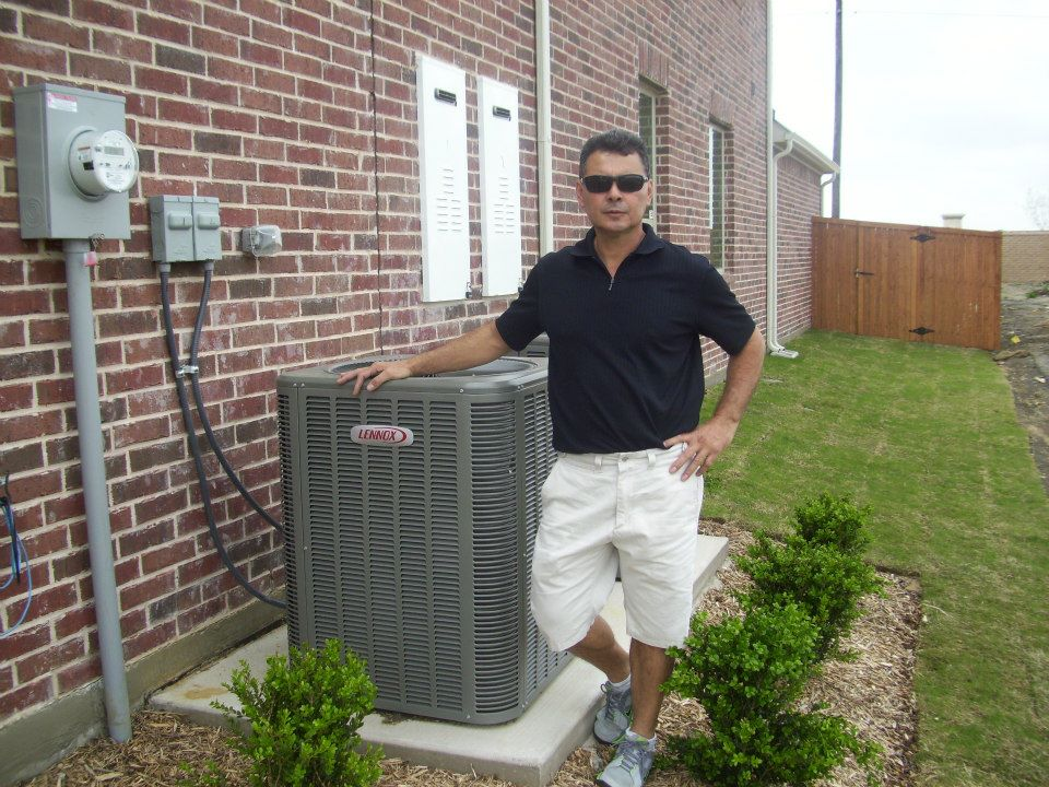 Residential AC installation