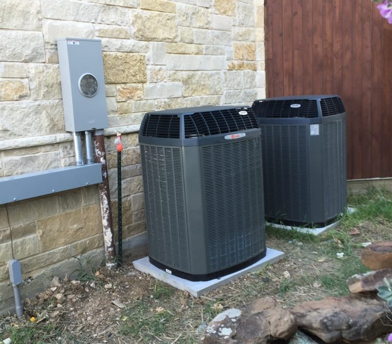 Heat pump variable speed XV20i Trane installation by MajanosAC