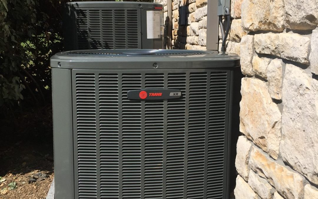 Replacement of  a XR16 Heat Pump Trane at Lakewood Village Texas