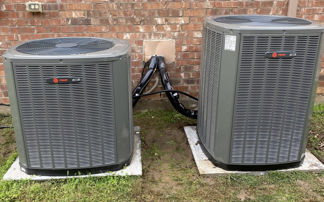 4 Ton Split Cooling XR16 Seer and 4 Ton Gas Furnace Brand Trane, Frisco Texas