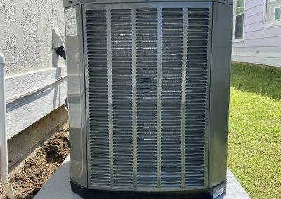 3 ton XR14 split cooling Trane.Aubrey, Texas 75068.