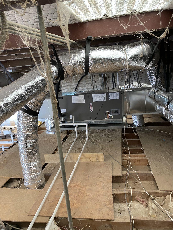 3 ton split cooling with 3-ton air handler, Lennox. Gravely Door. Aubrey Texas, 76227