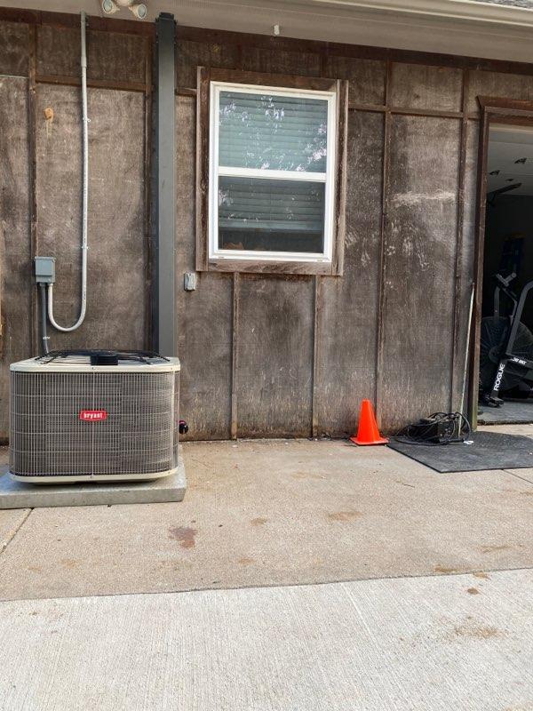 3 Ton Spilt Cooling Bryant With 3 Ton Air Handler Carrier, Little Elm, Texas